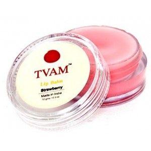 Buy TVAM Strawberry Lip Balm - Nykaa