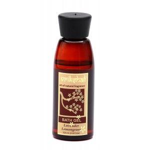 Buy Vrikshali Lavender Lemongrass Bath Gel - Nykaa