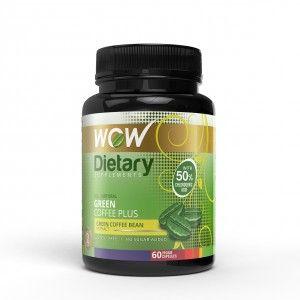 Buy WOW Green Coffee Plus Capsule - Nykaa