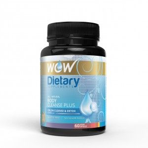 Buy WOW Body Cleanse Plus Capsule - Nykaa