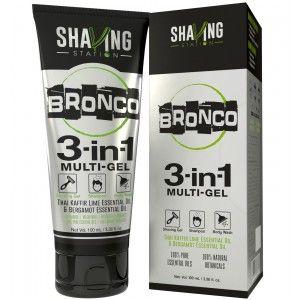 Buy Shaving Station Bronco 3 in 1 Gel - Nykaa