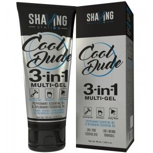 Buy Shaving Station Cool Dude 3 in 1 Gel - Nykaa