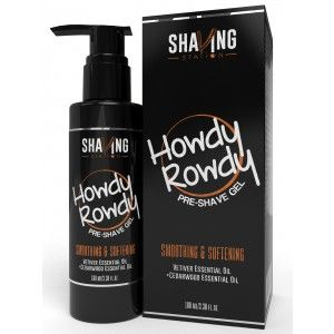 Buy Shaving Station Howdy Rowdy Pre Shave Gel - Nykaa