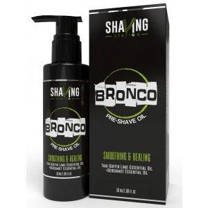 Buy Shaving Station Bronco Pre Shave Oil - Nykaa