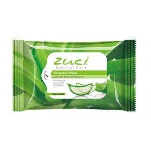 Buy Zuci Aloe Vera Extract & Vitamin E Wet Wipes - 15 WIPES - Nykaa