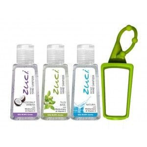 Buy Zuci 30 ml Coconut Verbena, Tulsi And Natural Hand Sanitizer With Bag Tag  - Nykaa