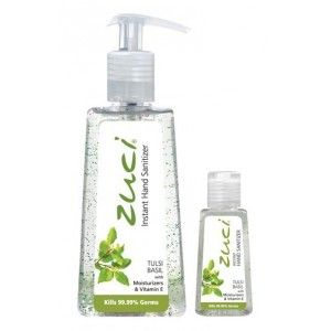 Buy Zuci Pack Of 250 ml & 30 ml Hand Sanitizer - Tulsi - Nykaa