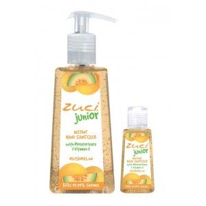 Buy Zuci Pack Of 250 ml & 30 ml Hand Sanitizer - Musk Melon  - Nykaa