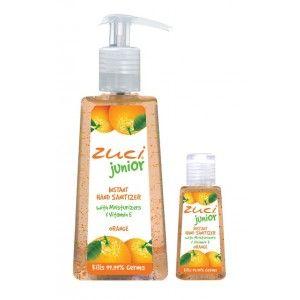 Buy Zuci Pack Of 250 ml & 30 ml Hand Sanitizer - Orange - Nykaa