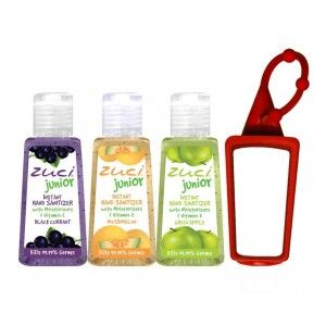 Buy Zuci 30ml Black Current, Muskmelon And Green Apple Hand Sanitizer With Bag Tag - Nykaa