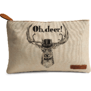 Buy DailyObjects Oh Deer Carry-All Pouch Medium - Nykaa