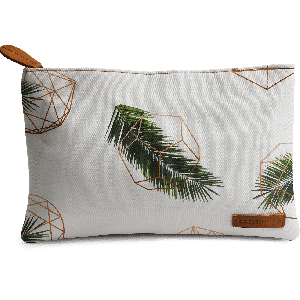 Buy DailyObjects Palm Geometry Carry-All Pouch Medium - Nykaa