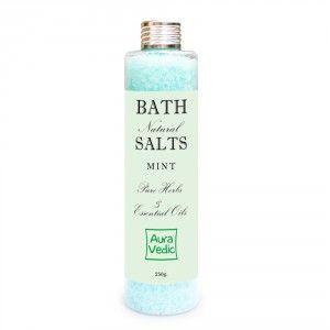 Buy Auravedic Mint Bath Salts - Nykaa