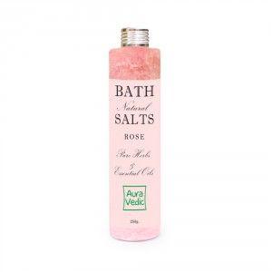 Buy Auravedic Rose Bath Salts - Nykaa
