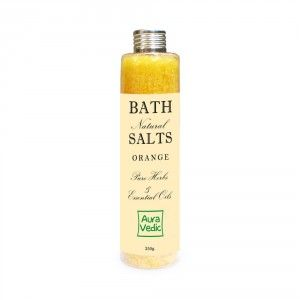 Buy Auravedic Orange Bath Salts - Nykaa