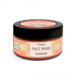 Buy Auravedic Clear Radiance Pulpy Face Wash with kumkumadi - Nykaa