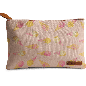 Buy DailyObjects Pink Ice Cream Carry-All Pouch Medium - Nykaa