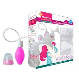 Buy Morisons Baby Dreams Manual Breast Pump - Classic Pink - Nykaa