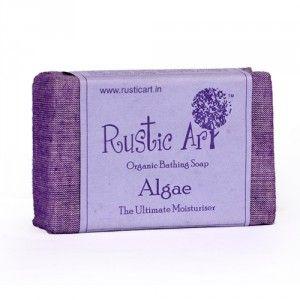 Buy Rustic Art Organic Algae Soap - Nykaa