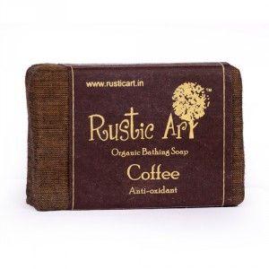 Buy Rustic Art Organic Coffee Soap - Nykaa