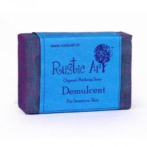 Buy Rustic Art Organic Demulcent Soap - Nykaa