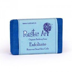 Buy Rustic Art Organic Exfoliate Soap - Nykaa