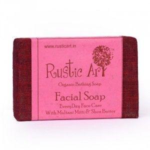 Buy Rustic Art Organic Facial Soap - Nykaa