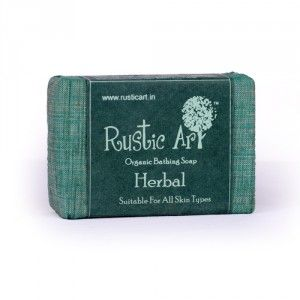 Buy Rustic Art Organic Herbal Soap - Nykaa