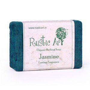 Buy Rustic Art Organic Jasmine Soap - Nykaa