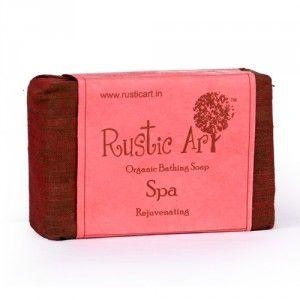 Buy Rustic Art Organic Spa Soap - Nykaa