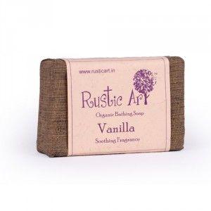 Buy Rustic Art Organic Vanilla Soap - Nykaa