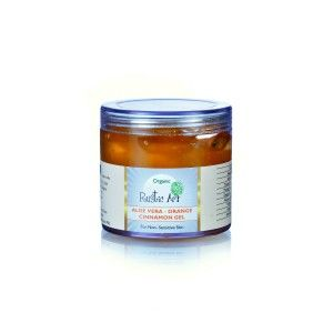 Buy Rustic Art Organic Aloe Vera - Orange & Cinnamon Gel  - Nykaa