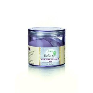 Buy Rustic Art Organic Aloe Vera - Lavender Gel  - Nykaa