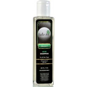 Buy Rustic Art Biodegradable Aloe Shampoo  - Nykaa