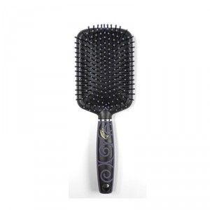 Buy Roots Paddle Brush with Cleaning comb  - Nykaa