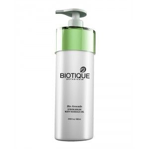 Buy Biotique Bio Avocado Stress Relief Body Massage Oil - Nykaa