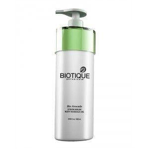 Buy Biotique Bio Avocado Stress Relief Body Massage Oil - Nykaa