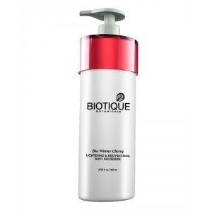 Buy Biotique Bio Winter Cherry Lightening & Rejuvenating Body Nourisher - Nykaa