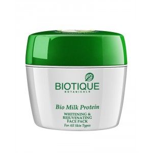 Buy Biotique Bio Milk Protein Whitening & Rejuvenating Face Pack - Nykaa