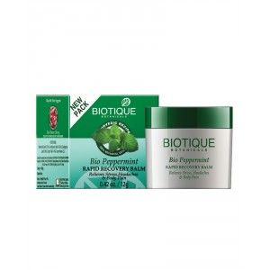 Buy Biotique Bio Pepermint Rapid Balm - Nykaa