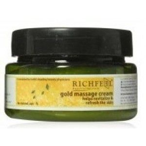 Buy Richfeel Gold Massage Cream - Nykaa