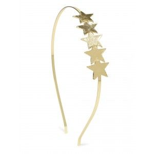 Buy Toniq Golden Shiny Diva Hair Band - Nykaa