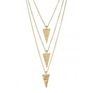 Buy Toniq Cleo Pyramid Necklace - Nykaa