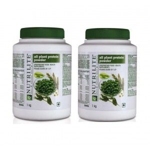 Buy Amway Nutrilite All Plant Protein 1 Kg - Set of 2 - Nykaa