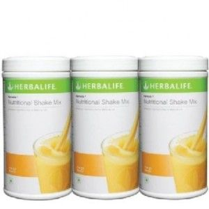 Buy Herbalife Meal Replacement Shakes - Mango 500 g each - Set of 3 - Nykaa