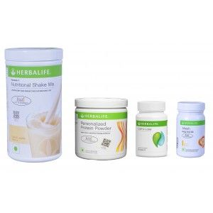 Buy Herbalife Weight Loss Pack- French Vanilla, Cell-U-Loss, Protein Powder & Lemon  - Nykaa