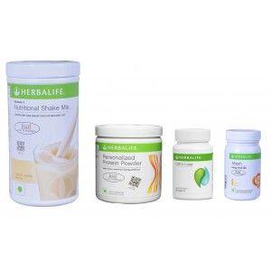 Buy Herbalife Weight Loss Pack- French Vanilla, Cell-U-Loss, Protein Powder & Lemon  - Nykaa