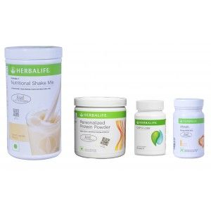 Buy Herbalife Weight Loss Pack- French Vanilla, Cell-U-Loss, Protein Powder & Ginger - Nykaa