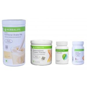 Buy Herbalife Weight Loss Pack- French Vanilla, Cell-U-Loss, Protein Powder & Elaichi - Nykaa