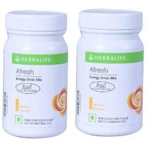 Buy Herbalife Energy Drink Lemon 50 g - Set of 2 - Nykaa